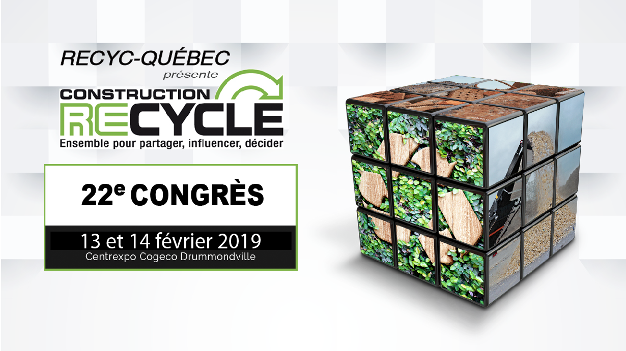 Congrès Construction ReCycle 2019 - INSCRIPTION PARTICIPANT